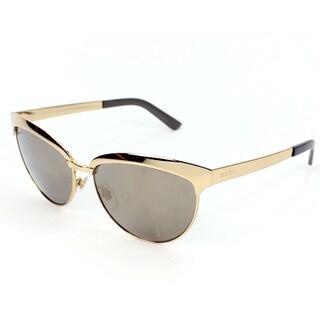Gucci Women's 4249/S Metal Cat Eye Sunglasses