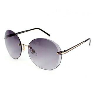 Gucci Women's 4247/S Metal Oval Modified Sunglasses