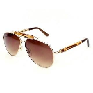 Gucci Women's 4240/S Metal Aviator Sunglasses