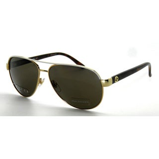 Gucci Women's 4239/S Metal Aviator Sunglasses