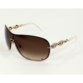 Gucci Women's 4231/S Metal Rectangular Sunglasses