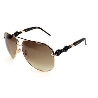 Gucci Women's 4225/S Metal Aviator Sunglasses