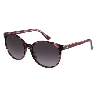 Gucci Women's 3722/S Plastic Oval Sunglasses