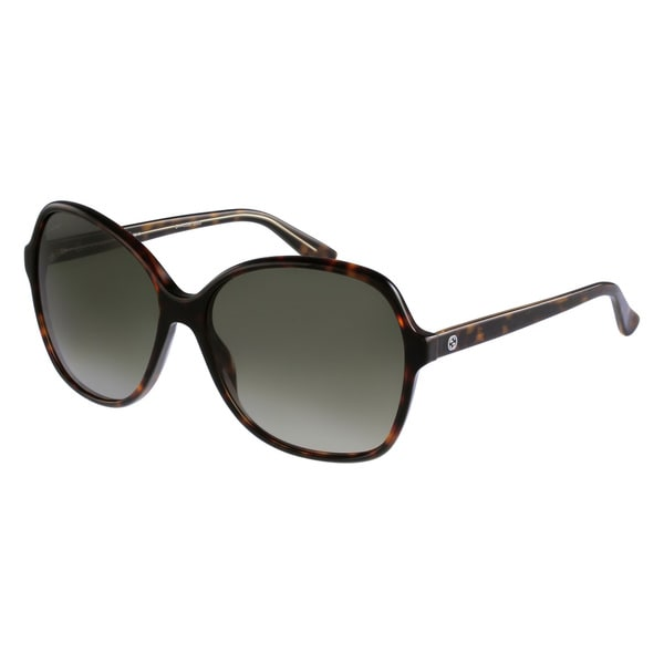 Gucci Women's 3721/S Rectangular Sunglasses