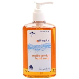 Medline Skintegrity Antibacterial Hand Soap, 7.5 ounces (12 per Case)