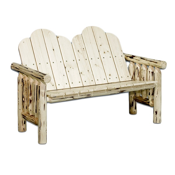 Cizre 2-piece Deck Bench Set in Exterior Stain Finish