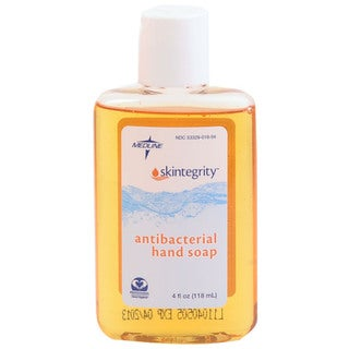 Medline Skintegrity Antibacterial Soap, 4 ounces (Case of 24)
