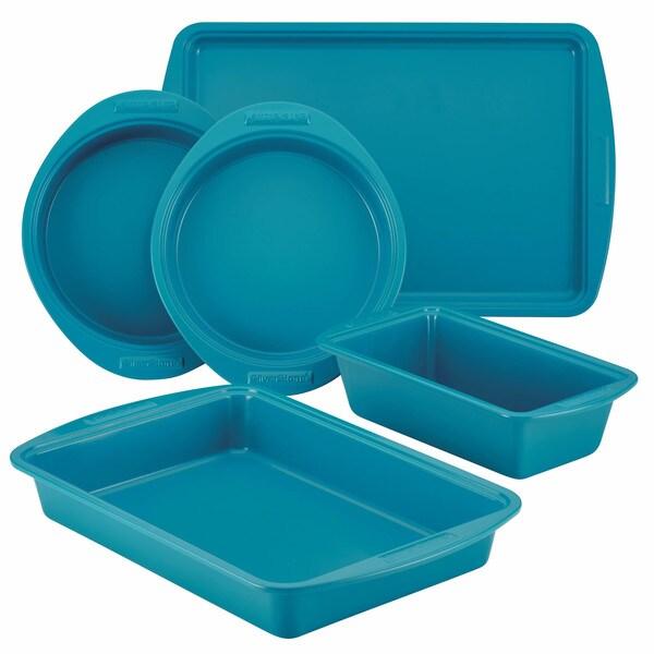 SilverStone Hybrid Ceramic Nonstick Bakeware 5-Piece Bakeware Set