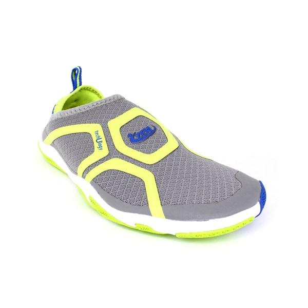 ZEMgear U Cross Grey/ Lime Shoes
