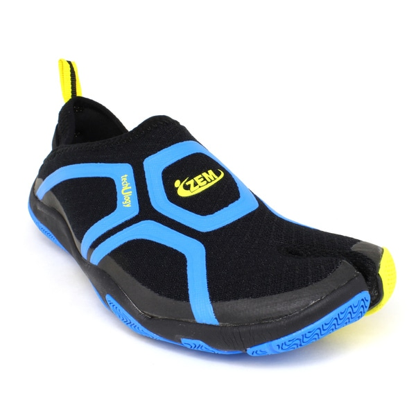 ZEMgear U Cross Black/ Blue Shoes