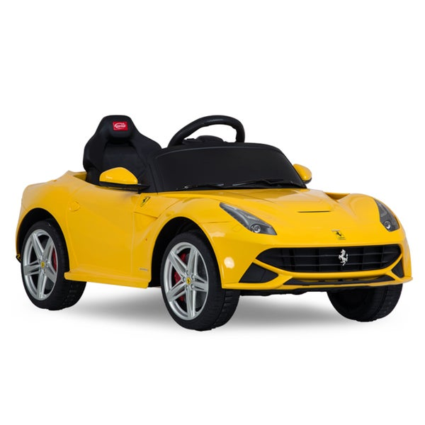 Rastar Ferrari F12 Rastar 12V Yellow Battery Operated/ Remote Controlled Car