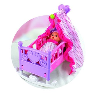 Babies Rocking Doll Cradle