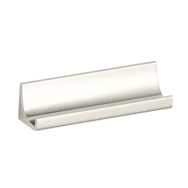 Loure 3 inch Vibrant Polished Nickel Drawer Pull