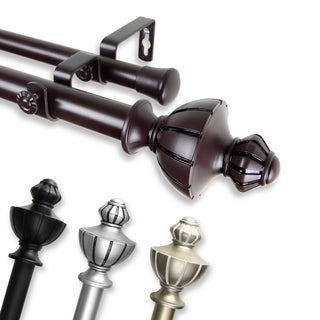 Oden Adjustable Double Curtain Rod