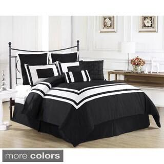 Modern Plush Comforter 8-piece Set