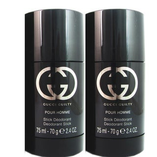 Gucci Guilty for Men 2.4-ounce Deodorant Stick (Pack of 2)