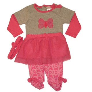 Kathy Ireland Red Butterfly Tutu Set