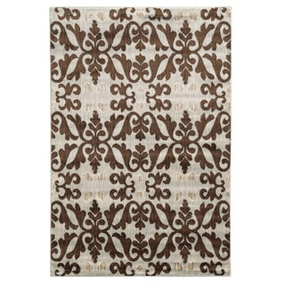 Linon Elegance Florence Ivory Rug (8' x 10')
