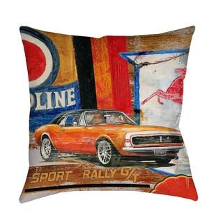 Thumbprintz Thumbprintz Muscle Cars II Indoor/ Outdoor Pillow