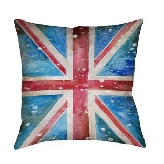 Thumbprintz Union Jack Indoor/ Outdoor Pillow