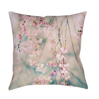 Thumbprintz Weeping Cherry Blossoms Indoor/ Outdoor Pillow