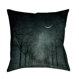 Thumbprintz When the Moon is Tired Indoor/ Outdoor Pillow