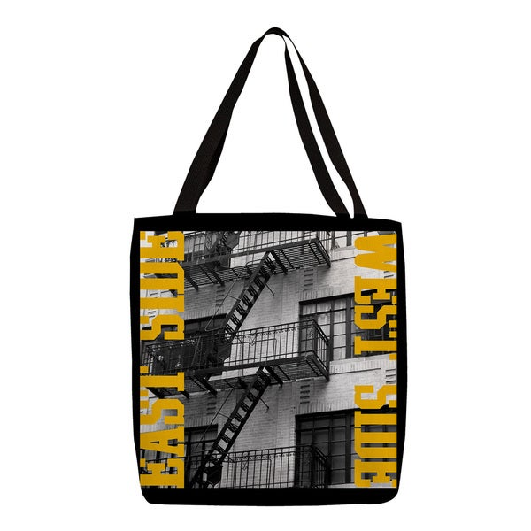Thumbprintz East Side Yellow Tote