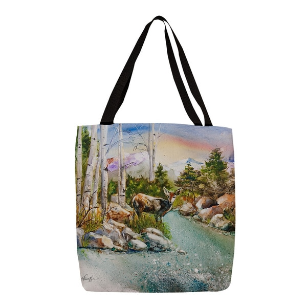 Thumbprintz Fawn at Mountain Stream Tote