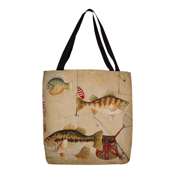 Thumbprintz Fish and Lures Tote