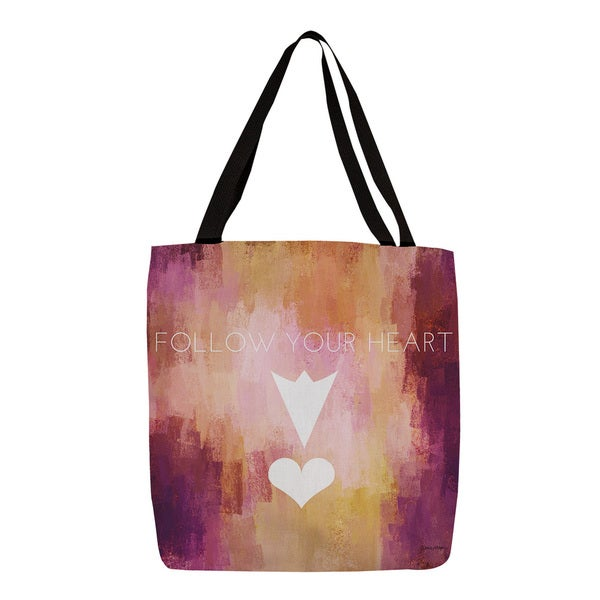 Thumbprintz Follow Your Heart Tote