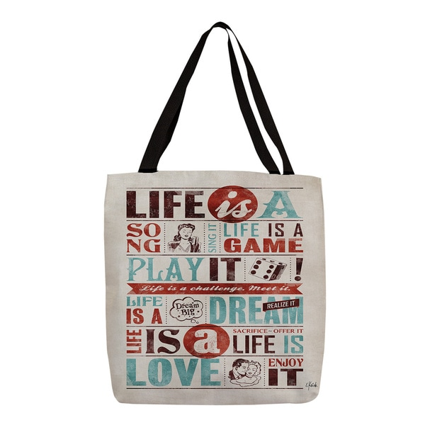 Thumbprintz Life Is Tote
