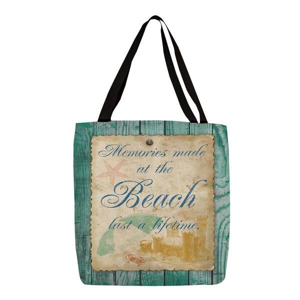 Thumbprintz Memories at the Beach Tote