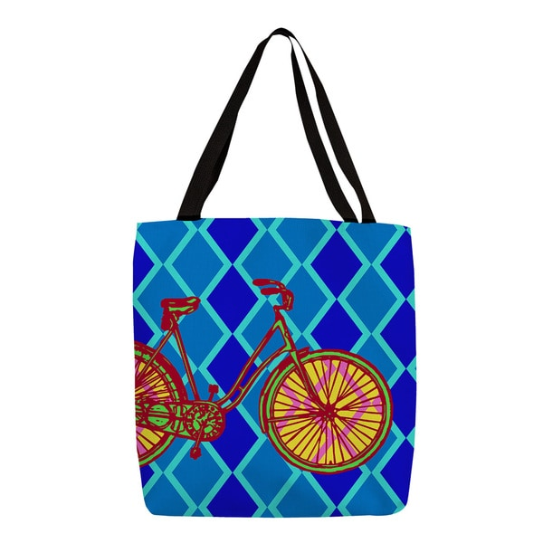 Thumbprintz Neon Party Bike Tote