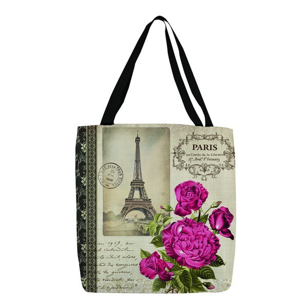 Thumbprintz Springtime in Paris All Roses Tote