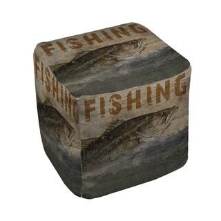Thumbprintz Fishing Pouf