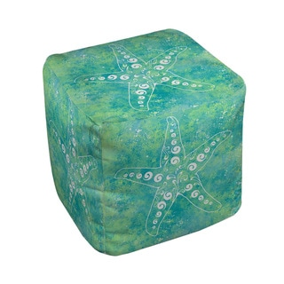 Thumbprintz Sponge Paint Starfish Pouf