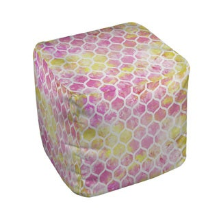 Thumbprintz Summer Florals Pattern I Pouf