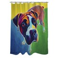 Thumbprintz Leo Shower Curtain