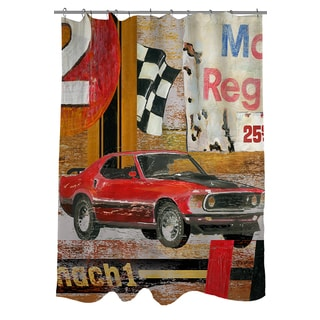 Thumbprintz Muscle Cars I Shower Curtain