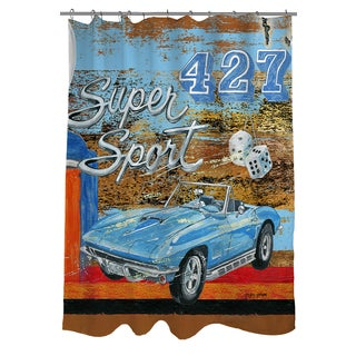 Thumbprintz Muscle Cars III Shower Curtain