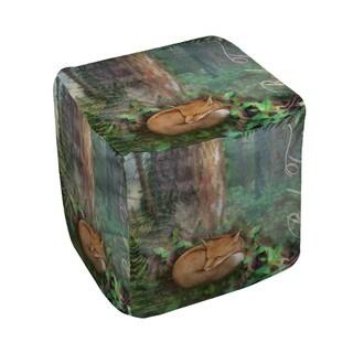 Thumbprintz Conifer Lodge Fox Pouf