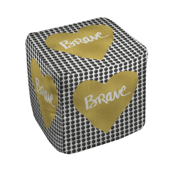 Thumbprintz Brave Heart Pouf