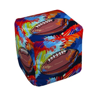 Thumbprintz Football Touchdown Pouf