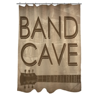 Thumbprintz Band Cave Shower Curtain