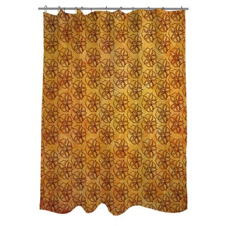 Thumbprintz Palms Pattern IX Shower Curtain