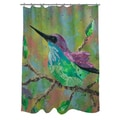 Thumbprintz Hummingbird Shower Curtain