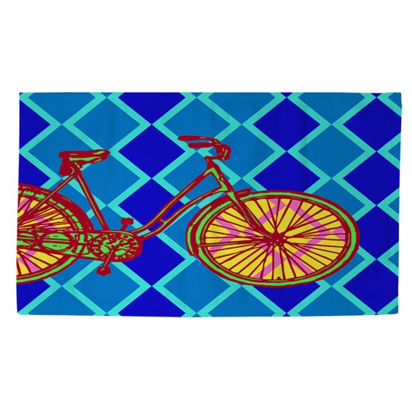 Thumbprintz Neon Party Bike Rug (2' x 3')