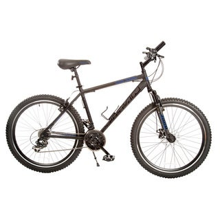 Titan Dark Knight Lightweight Alloy 21-Speed Mens Mountain Bike with Suspension and Disc Brake