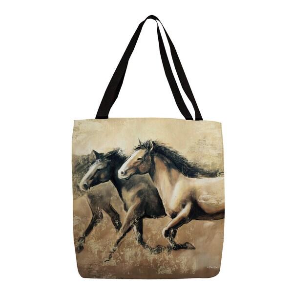 Thumbprintz Galloping Horses Tote
