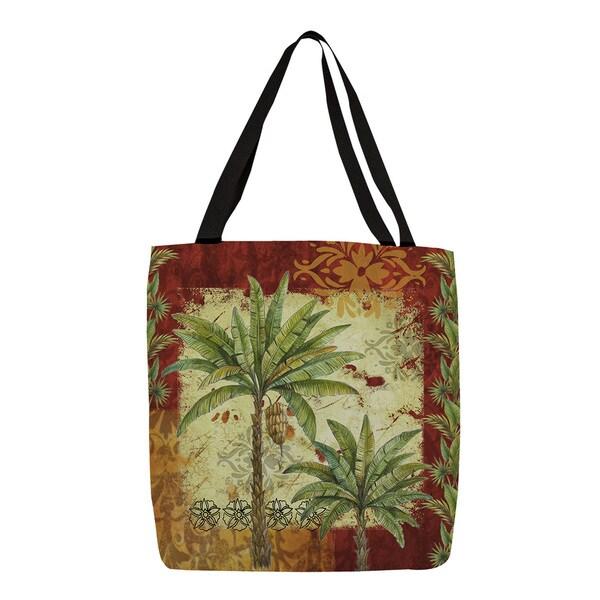 Thumbprintz Palms Pattern V Tote